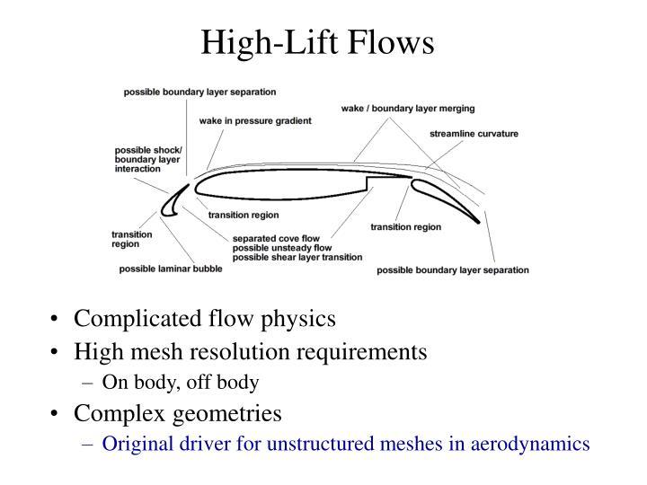 High-Lift Flows