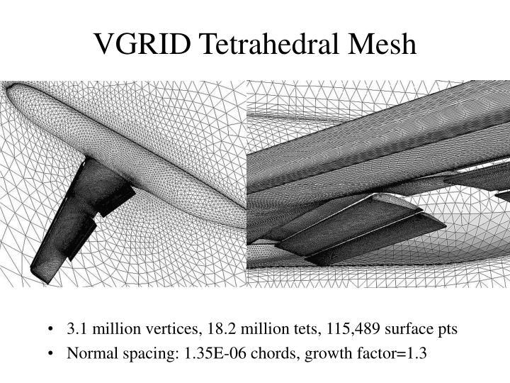 VGRID Tetrahedral Mesh