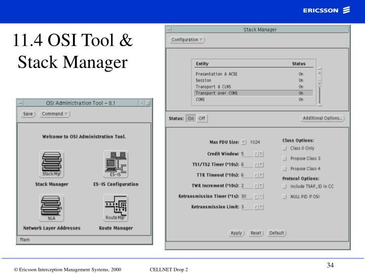 11.4 OSI Tool &