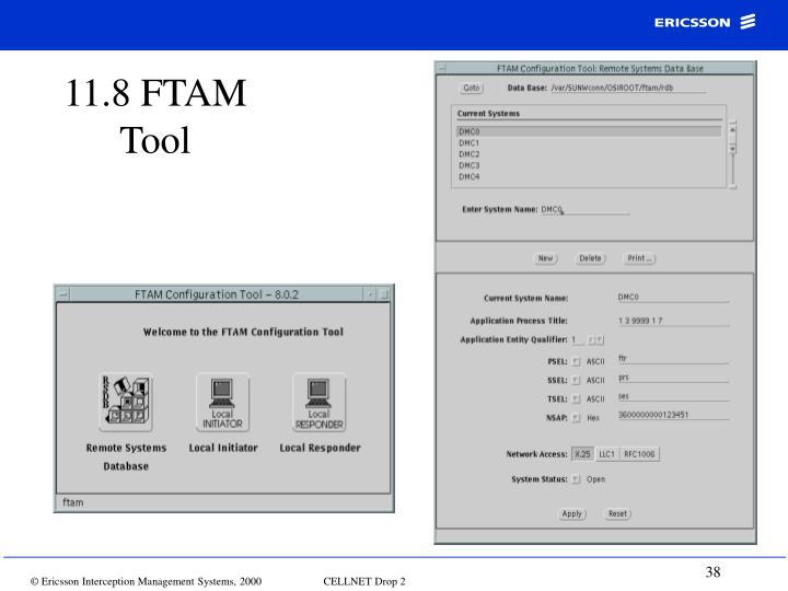 11.8 FTAM Tool