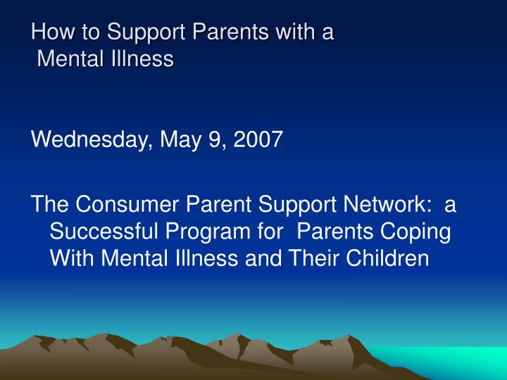 How to Support Parents with a