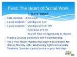 field the heart of social work1