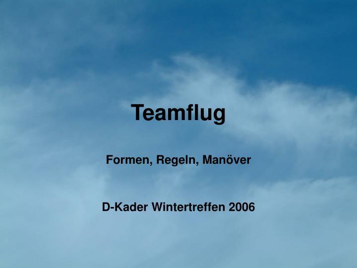 Teamflug