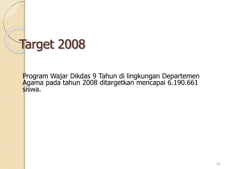 Target 2008