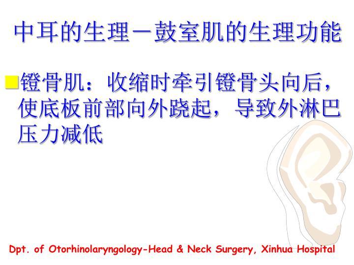 中耳的生理-
