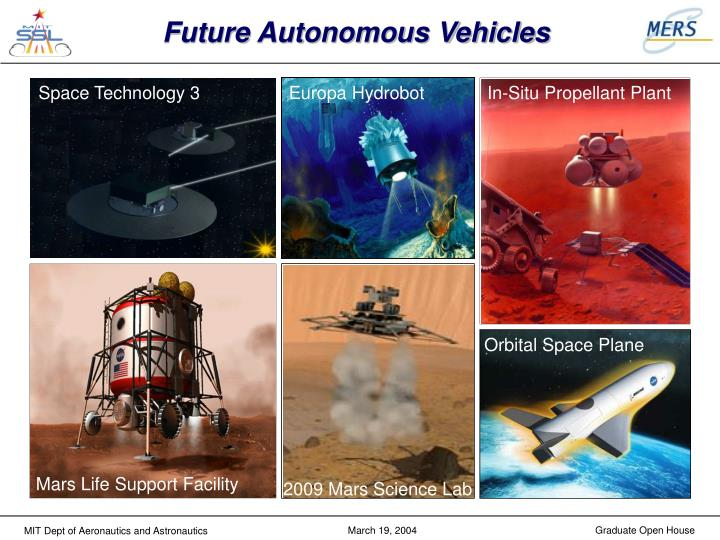 Future Autonomous Vehicles