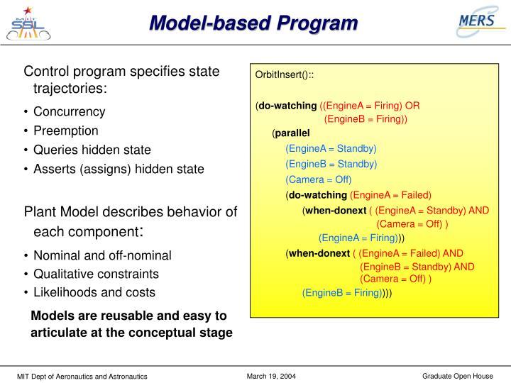 Model-based Program