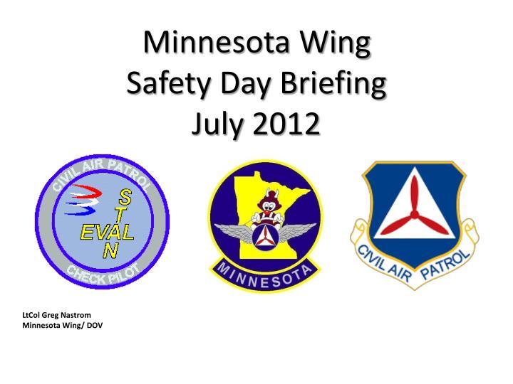Minnesota Wing