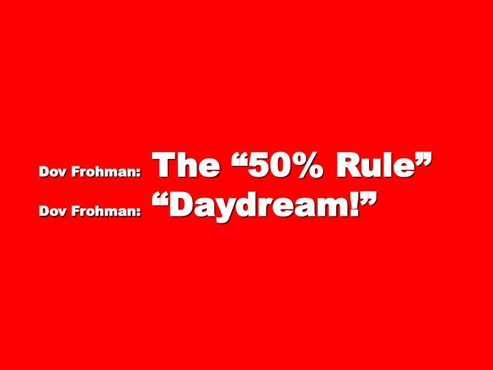 Dov Frohman: