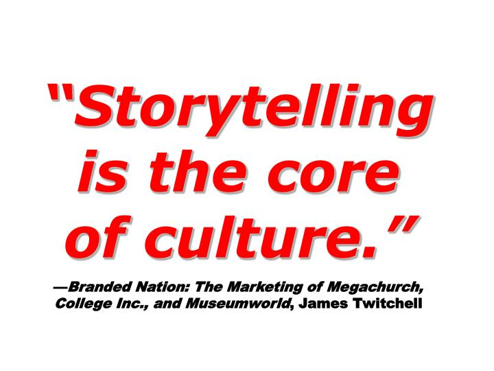 """""""Storytelling"""