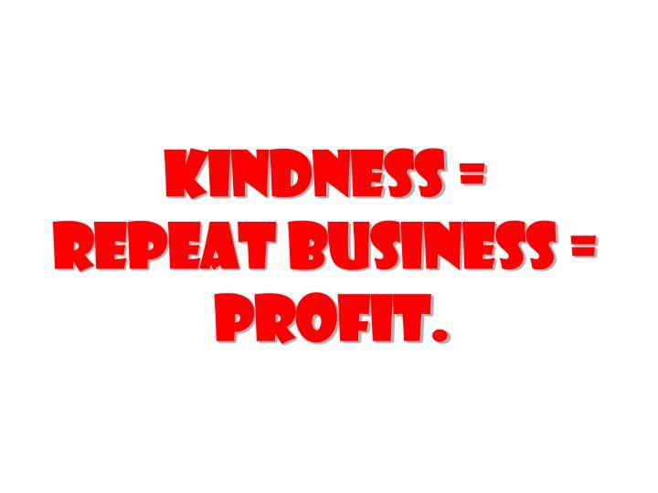 Kindness =