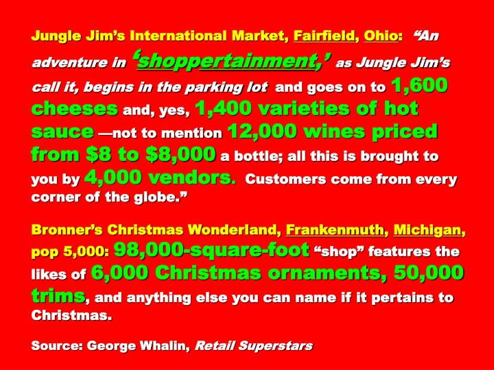 Jungle Jims International Market,