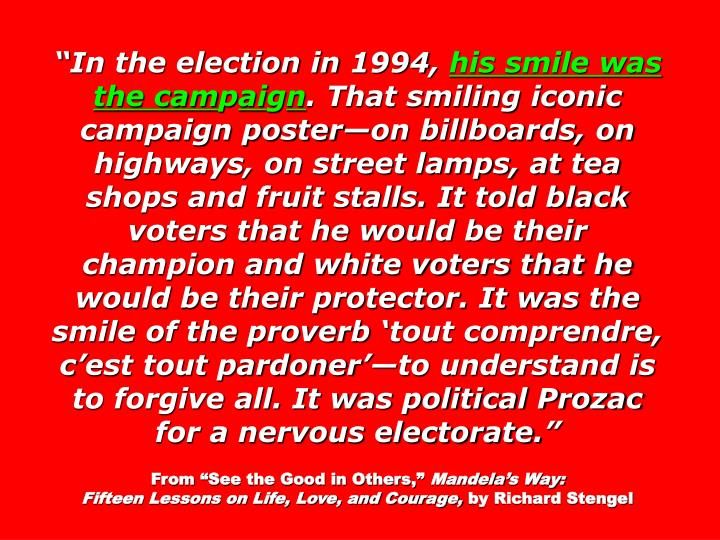 In the election in 1994,