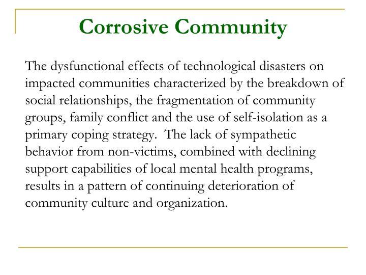 Corrosive Community