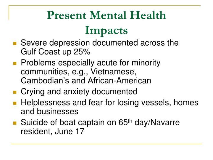 Present Mental Health
