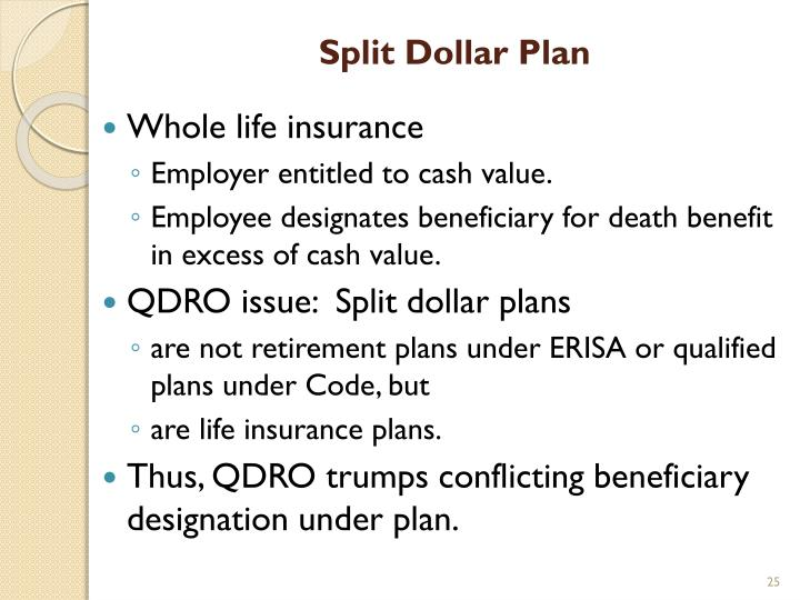 Split Dollar Plan