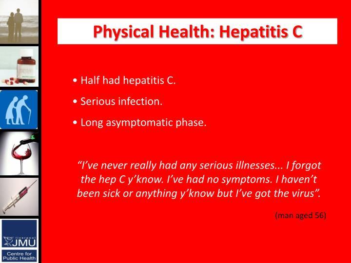 Physical Health: Hepatitis C