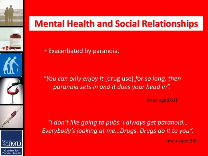 Mental Health and Social Relationships