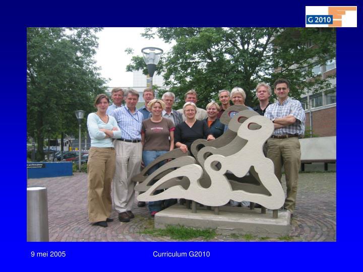 Curriculum G2010