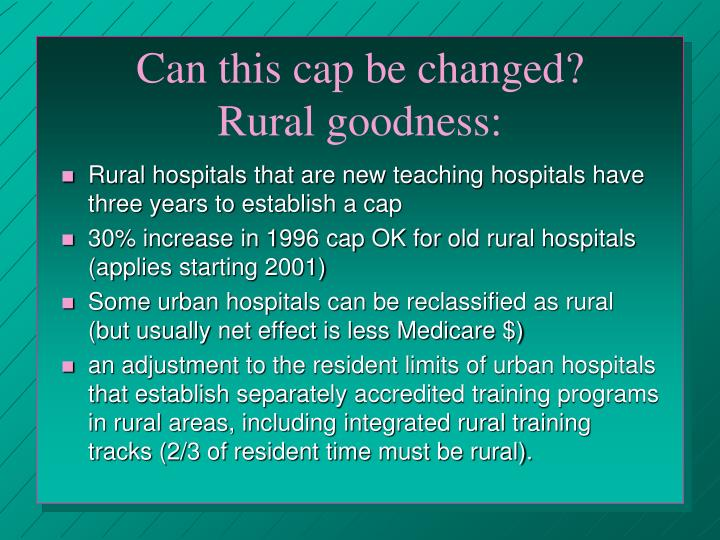 Can this cap be changed?       Rural goodness: