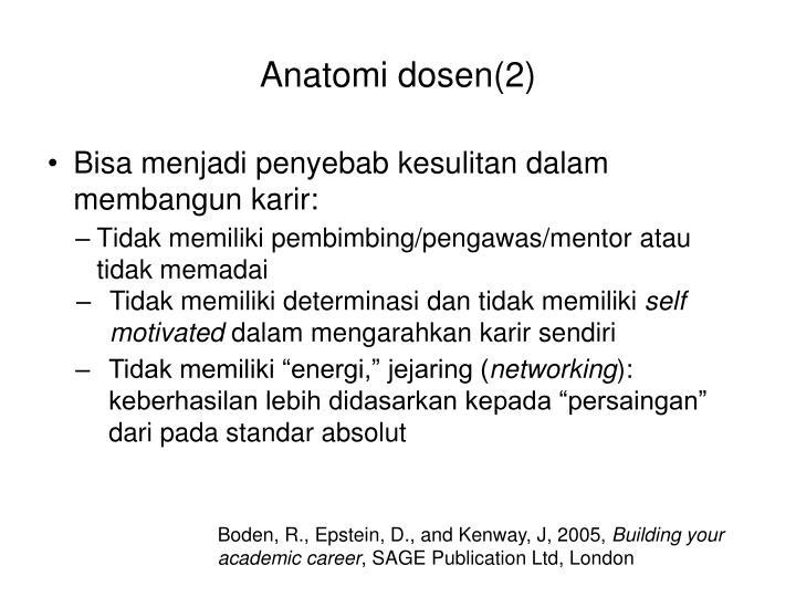 Anatomi dosen(2)