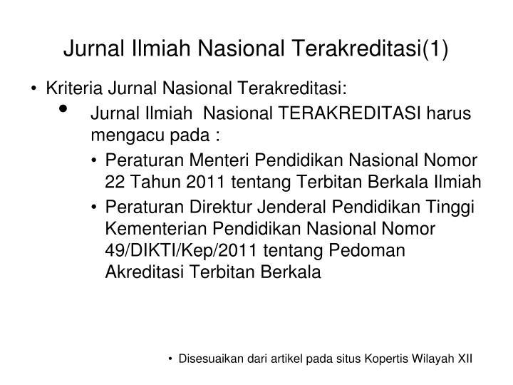 Jurnal Ilmiah Nasional Terakreditasi(1)