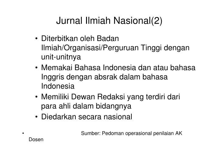 Jurnal Ilmiah Nasional(2)