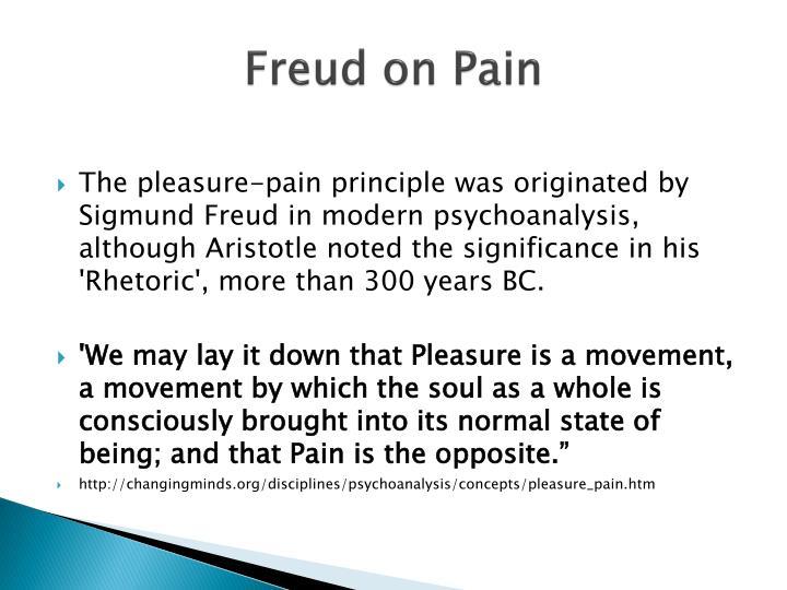 Freud on Pain