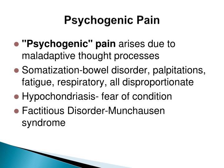 Psychogenic Pain