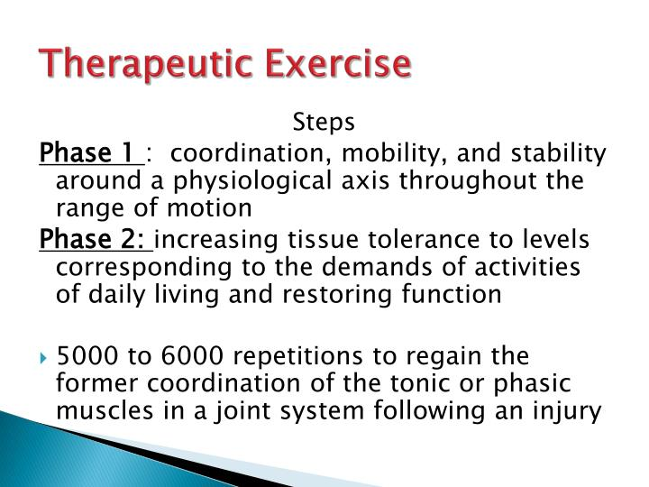 Therapeutic