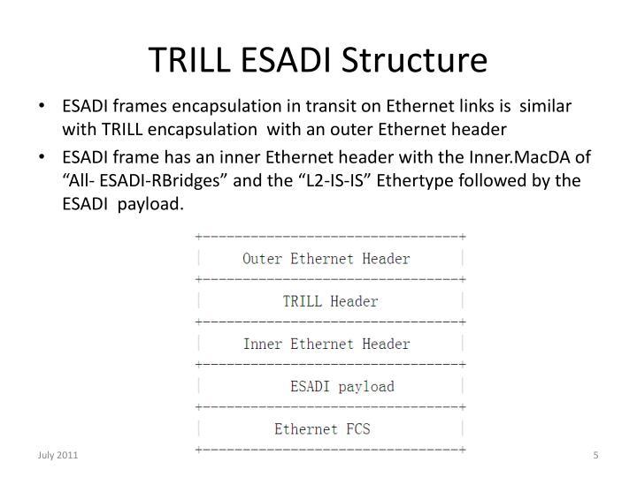 TRILL ESADI Structure
