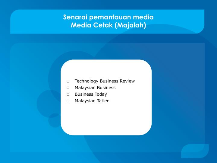 Technology Business Review