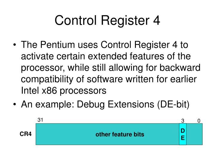 Control Register 4