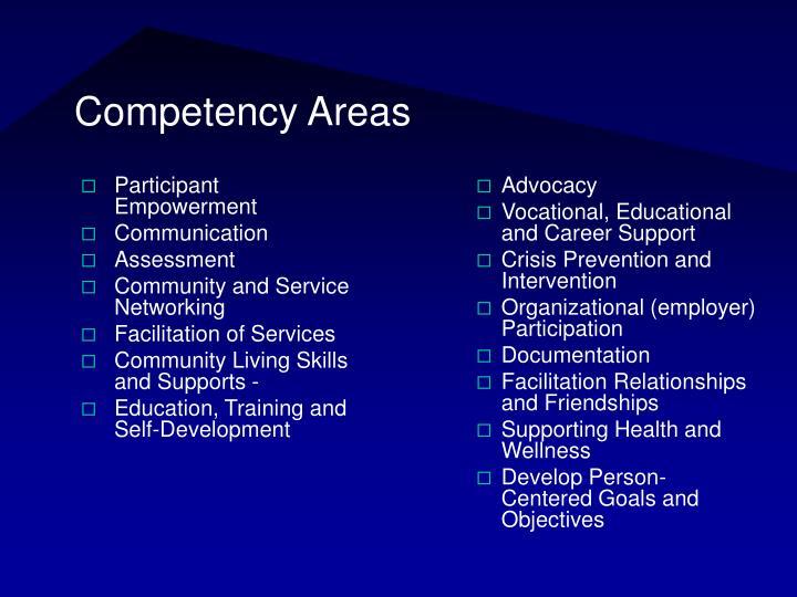 Participant Empowerment