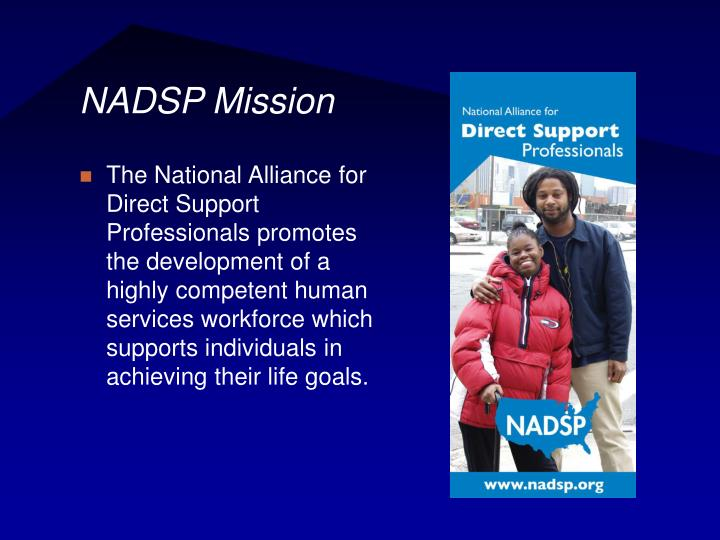 Nadsp mission