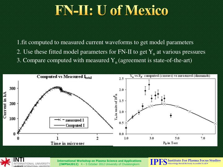 FN-II: U of Mexico