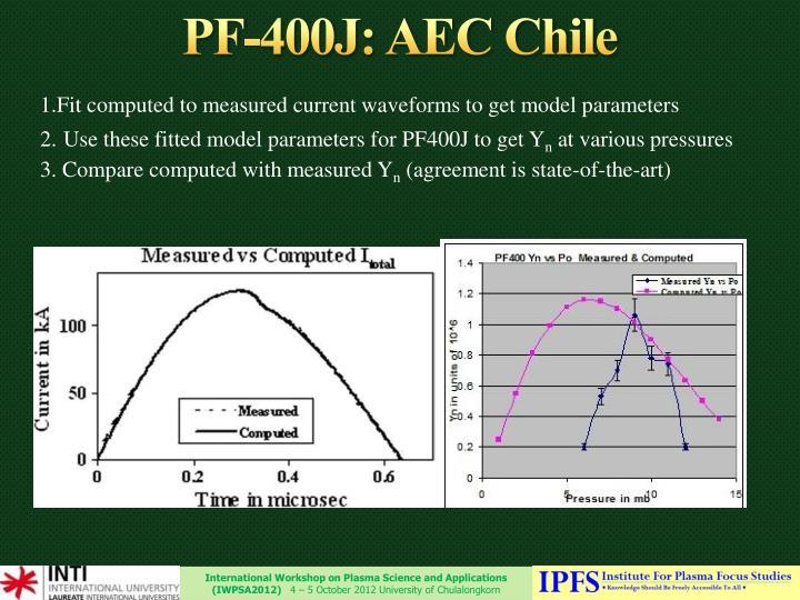 PF-400J: AEC Chile