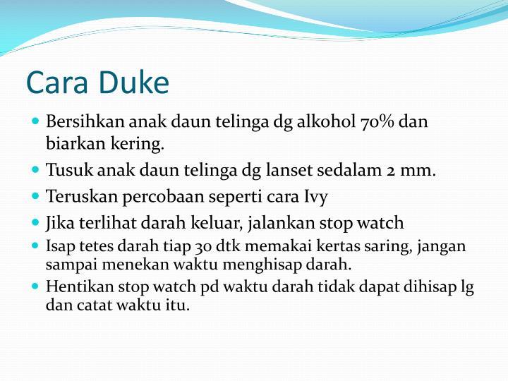 Cara Duke