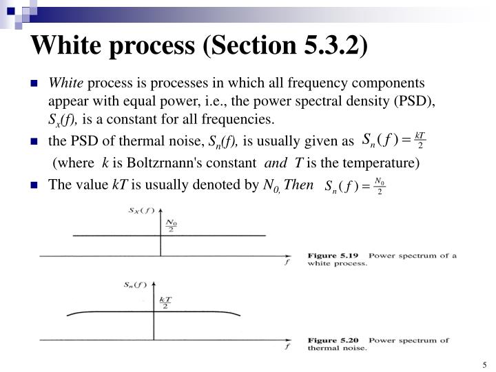 White process (Section 5.3.2)