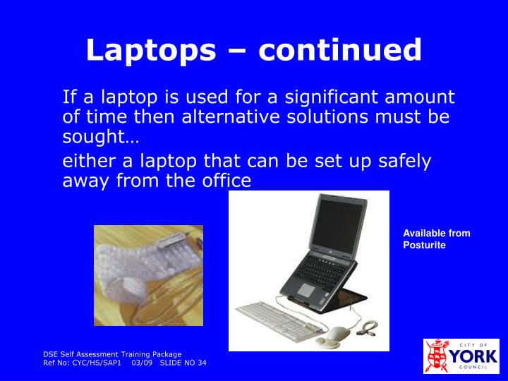 Laptops – continued