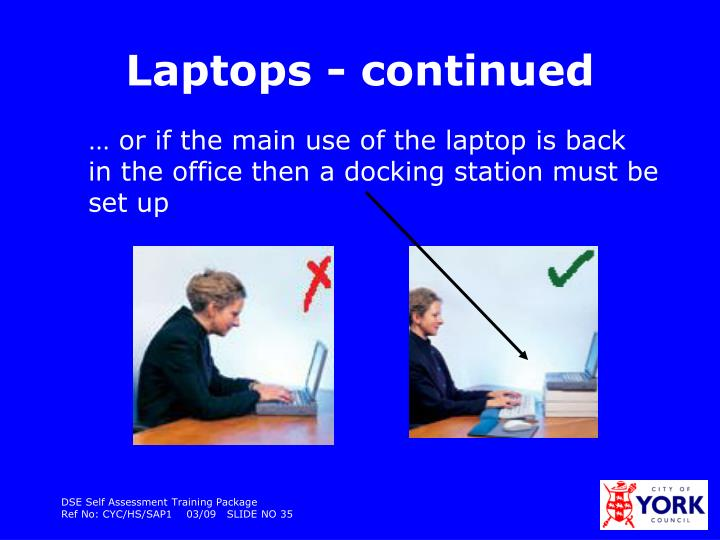 Laptops - continued