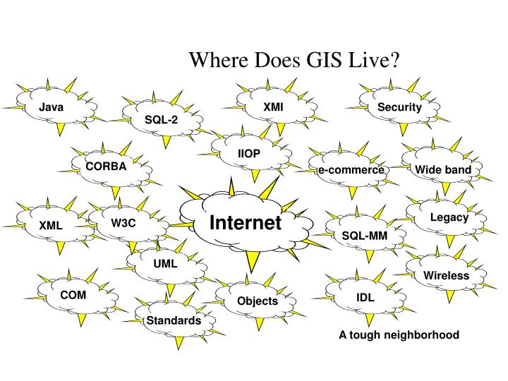 Where Does GIS Live?