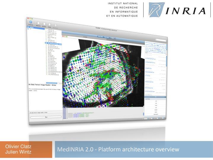 MedINRIA 2.0 - Platform architecture overview