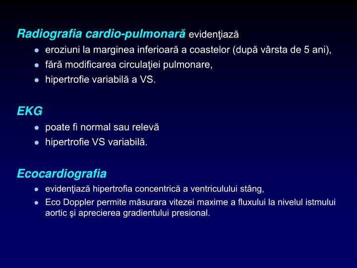 Radiografia cardio-pulmonară