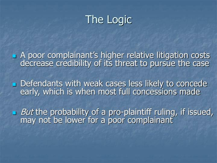 The Logic