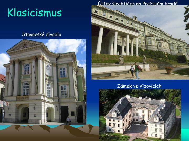 Ústav šlechtičen na Pražském hradě