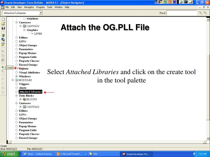 Attach the OG.PLL File