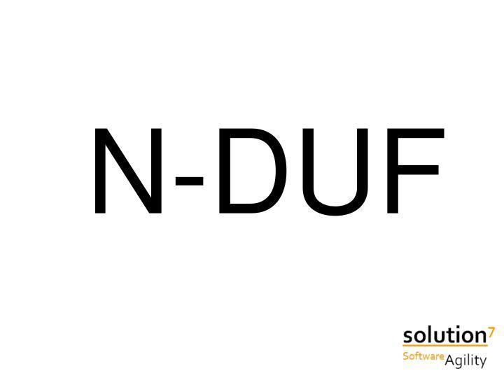 N-DUF
