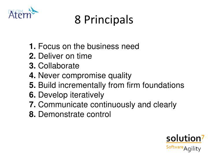 8 Principals