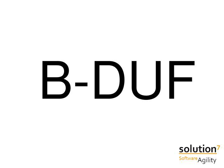 B-DUF